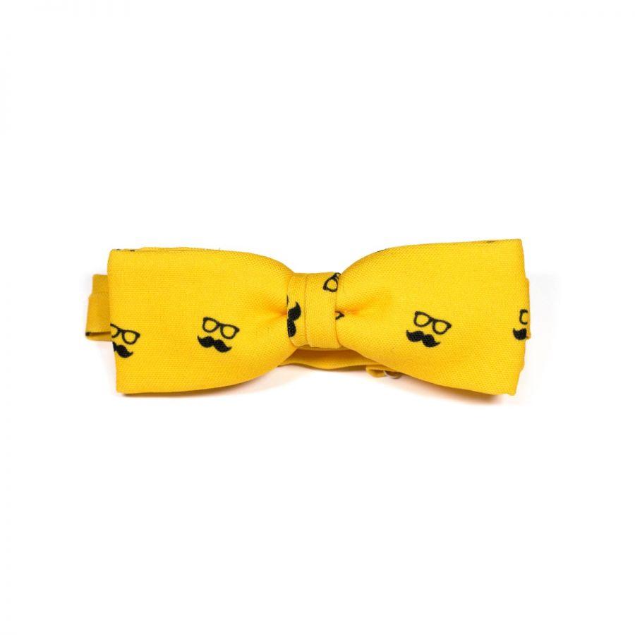 Colton Yellow Unisex Bow Tie