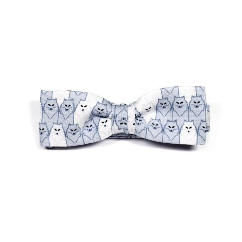 Wolf Unisex Bow Tie by Daniel Grao