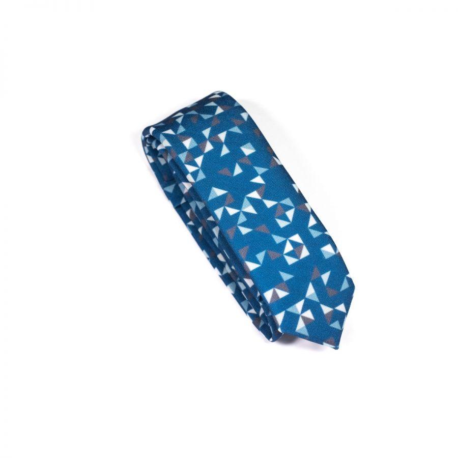 Purple 3angle Necktie