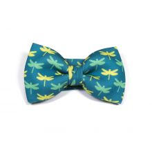 Green Dragonfly Insect Classic Bow Tie