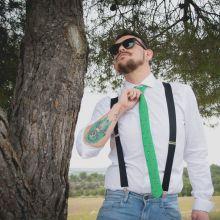 Geeky Pointer Necktie