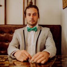 Geeky Pointer Classic Bow Tie