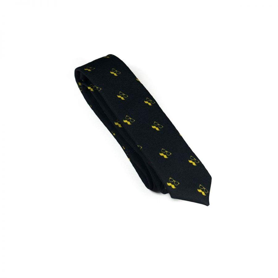 Colton Black Necktie