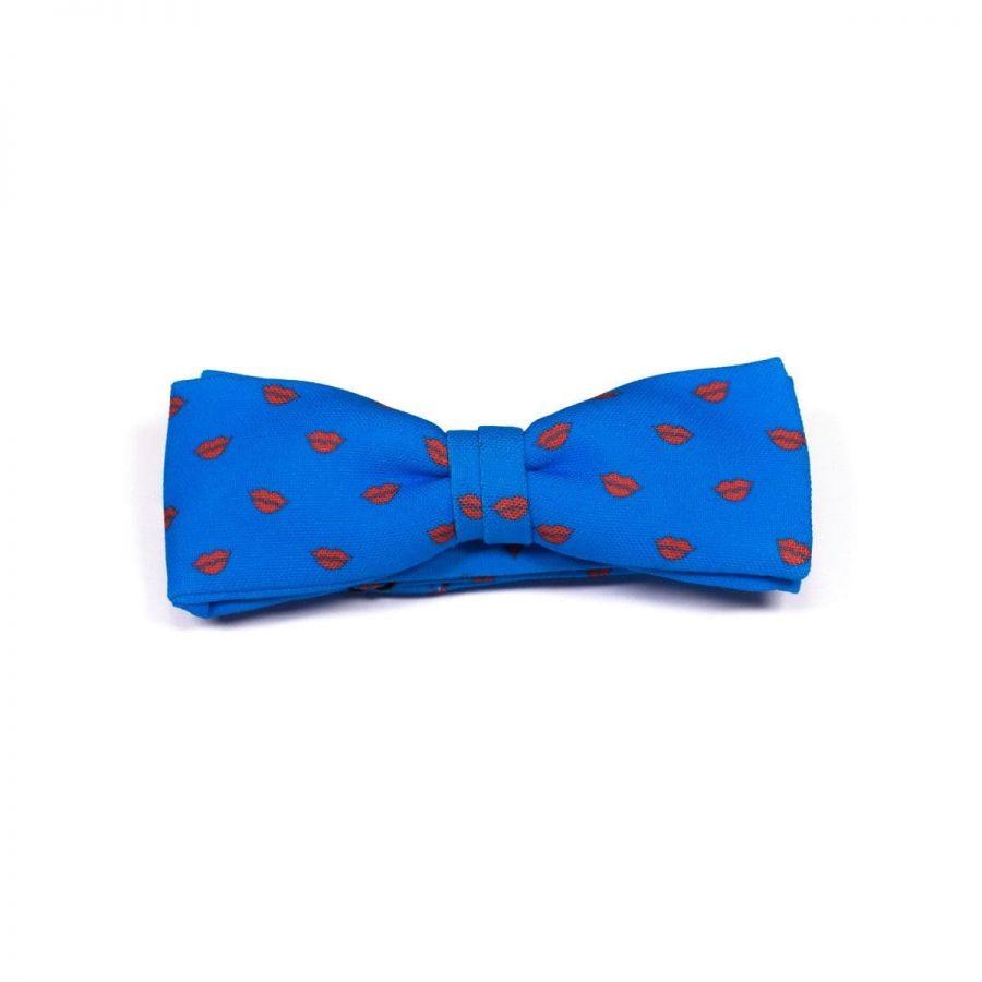 Kisses Unisex Bow Tie by Veronica Perona