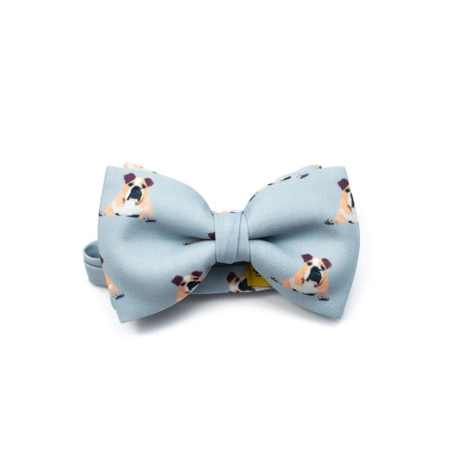 Bulldog Classic Bow Tie by Veronica Perona