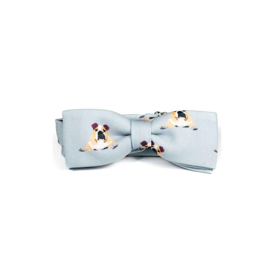 Bulldog Unisex Bow Tie by Veronica Perona