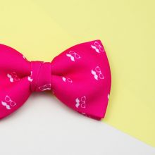 Colton Pink Classic Bow Tie