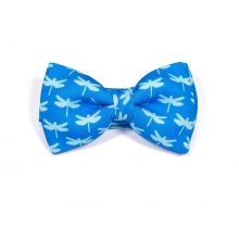 Insect Dragonfly blue Classic Bow Tie