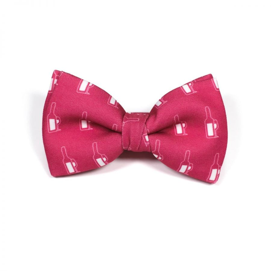 Foodie Wine Classic Bow Tie