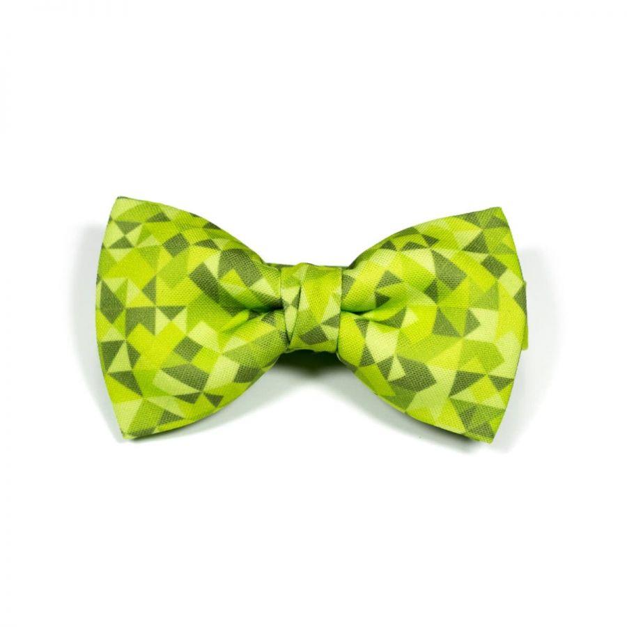 Dark Green 3angle Classic Bow Tie