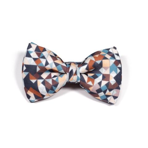 Chocolate 3angle Classic Bow Tie