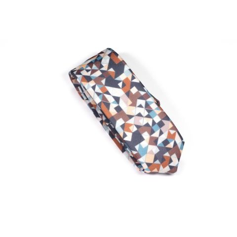 Chocolate 3angle Necktie