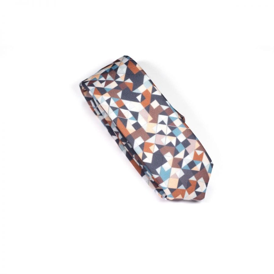 Chocolate 3angle Necktie