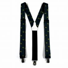 Colton Black Suspenders