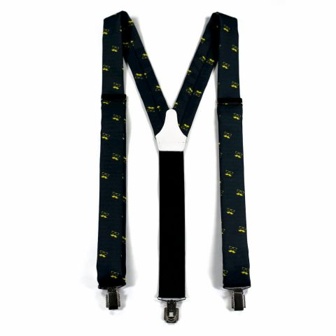 Colton Black Suspenders
