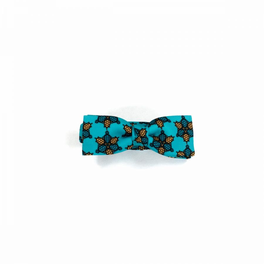 Wild Turtle gold unisex Bow Tie