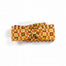 Colton Circles Red unisex Bow Tie