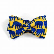 Elephant Classic Bow Tie by Veronica Perona