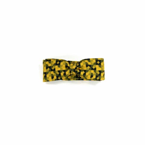Colton Circles Gold unisex Bow Tie