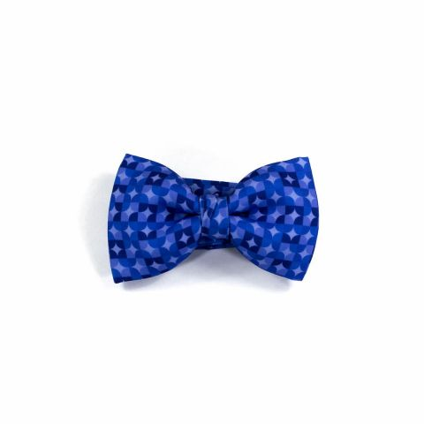 Colton Circles Purple Classic Bow Tie